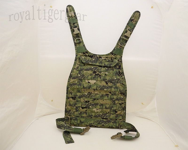 FLYYE RRV MOLLE Chest Rig Vest PC Back Plate - AOR1 , AOR2