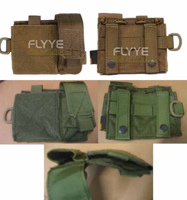 FLYYE MOLLE SAF Admin Administrative Map Pistol Magazine Panel