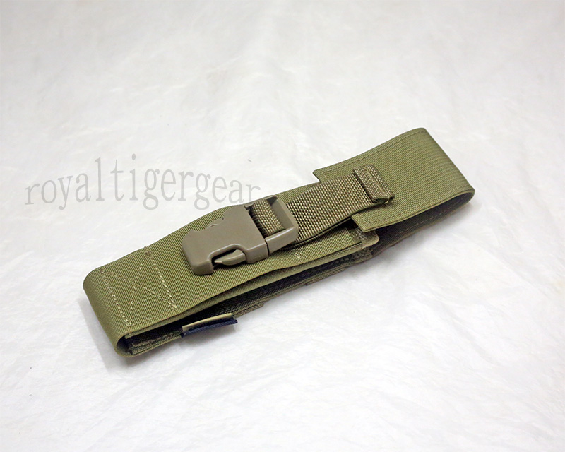 FLYYE Gun Rifle Pistol Silencer Flash Hider MOLLE Holder - AOR1 , AOR2