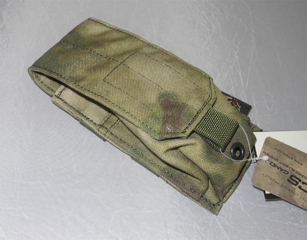 FLYYE Smoke / Flash Grenade MOLLE Pouch -  A-TACS , A-TACS/FG