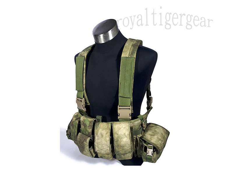 FLYYE LBT 1961A light Chest Rig Vest - A-TACS AU, A-TACS FG