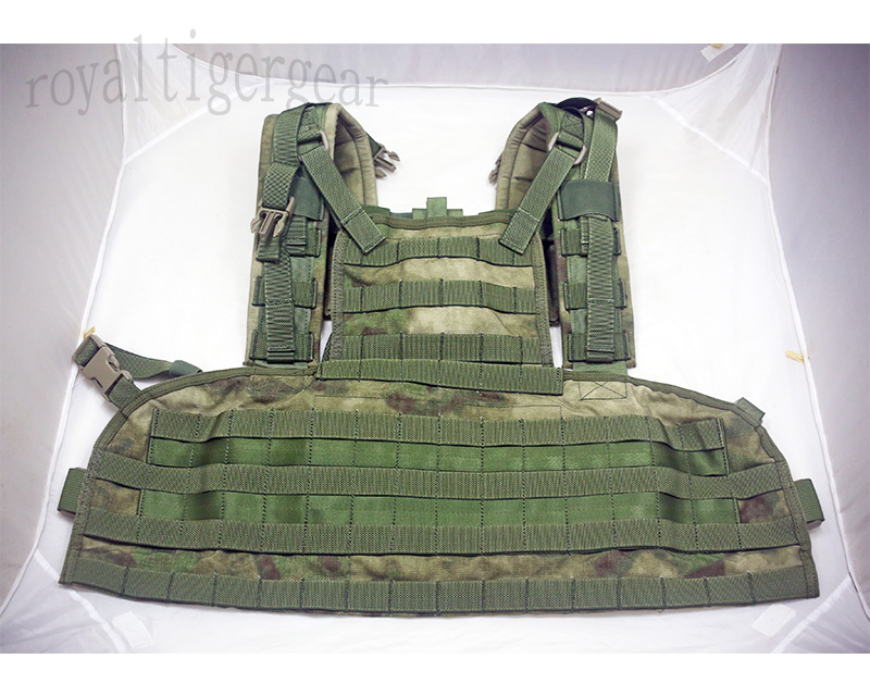 FLYYE RRV MOLLE Chest Rig Vest - A-TACS , A-TACS/FG