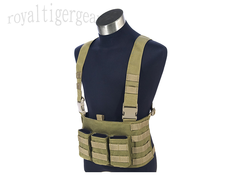 FLYYE LAW ENF Enforcement Tactical MOLLE Chest Rig Vest - AOR1, AOR2