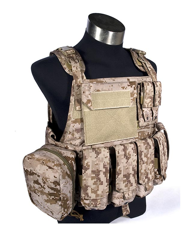FLYYE MOLLE PC Plate Carrier w/ Pouches - AOR1 , AOR2