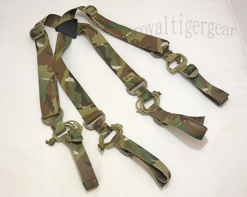 FLYYE X Belt Gear Suspenders - Multicam®