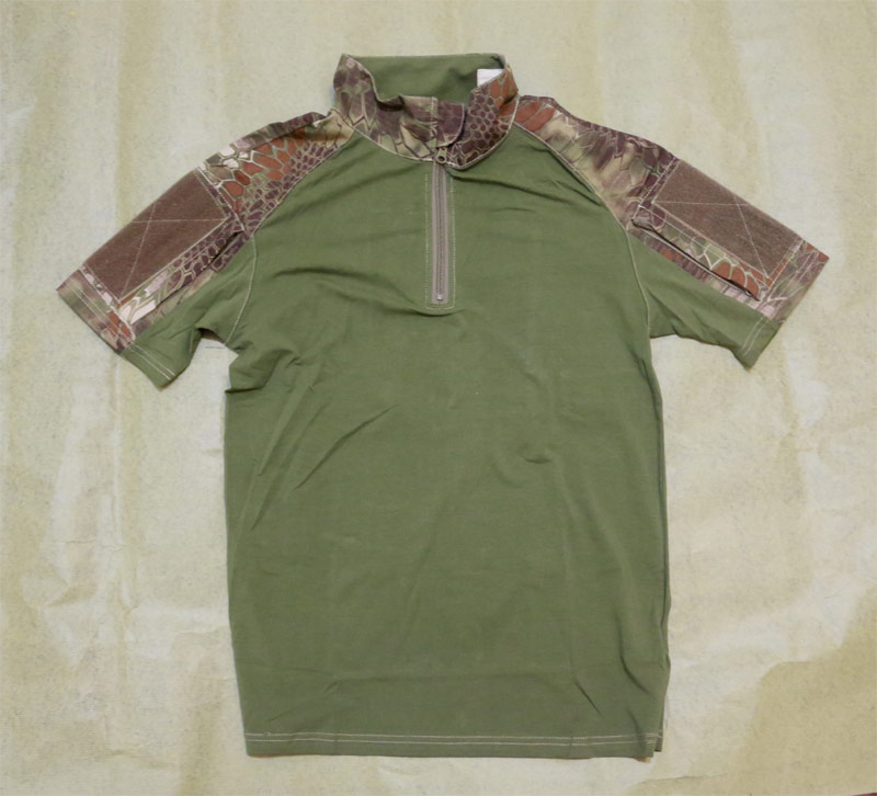 CHIEF Python Snake Camo Short Sleeve Combat Shirt ( Pure Center ) - BAN