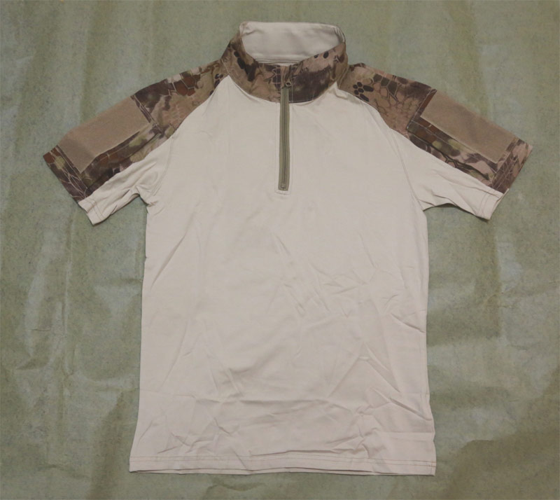 CHIEF Python Snake Camo Short Sleeve Combat Shirt ( Pure Center ) - HLD