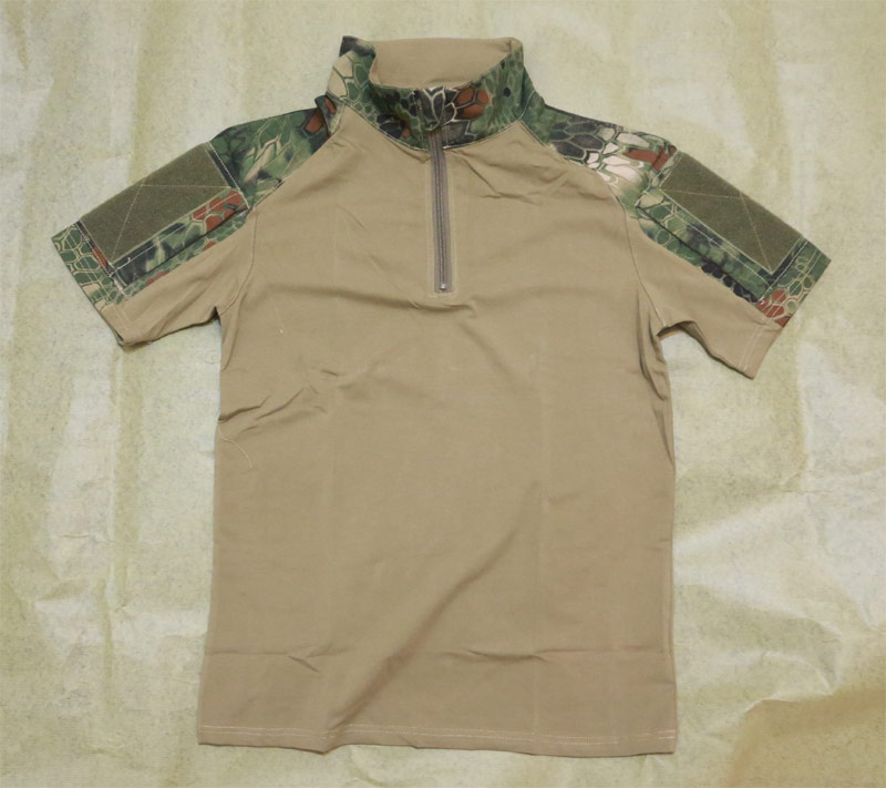 CHIEF Python Snake Camo Short Sleeve Combat Shirt ( Pure Center ) - MR