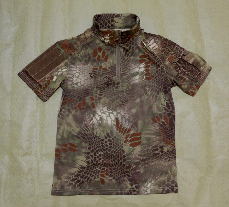 CHIEF Python Snake Camo Short Sleeve Combat Shirt - BAN