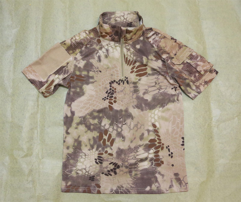 CHIEF Python Snake Camo Short Sleeve Combat Shirt - HLD