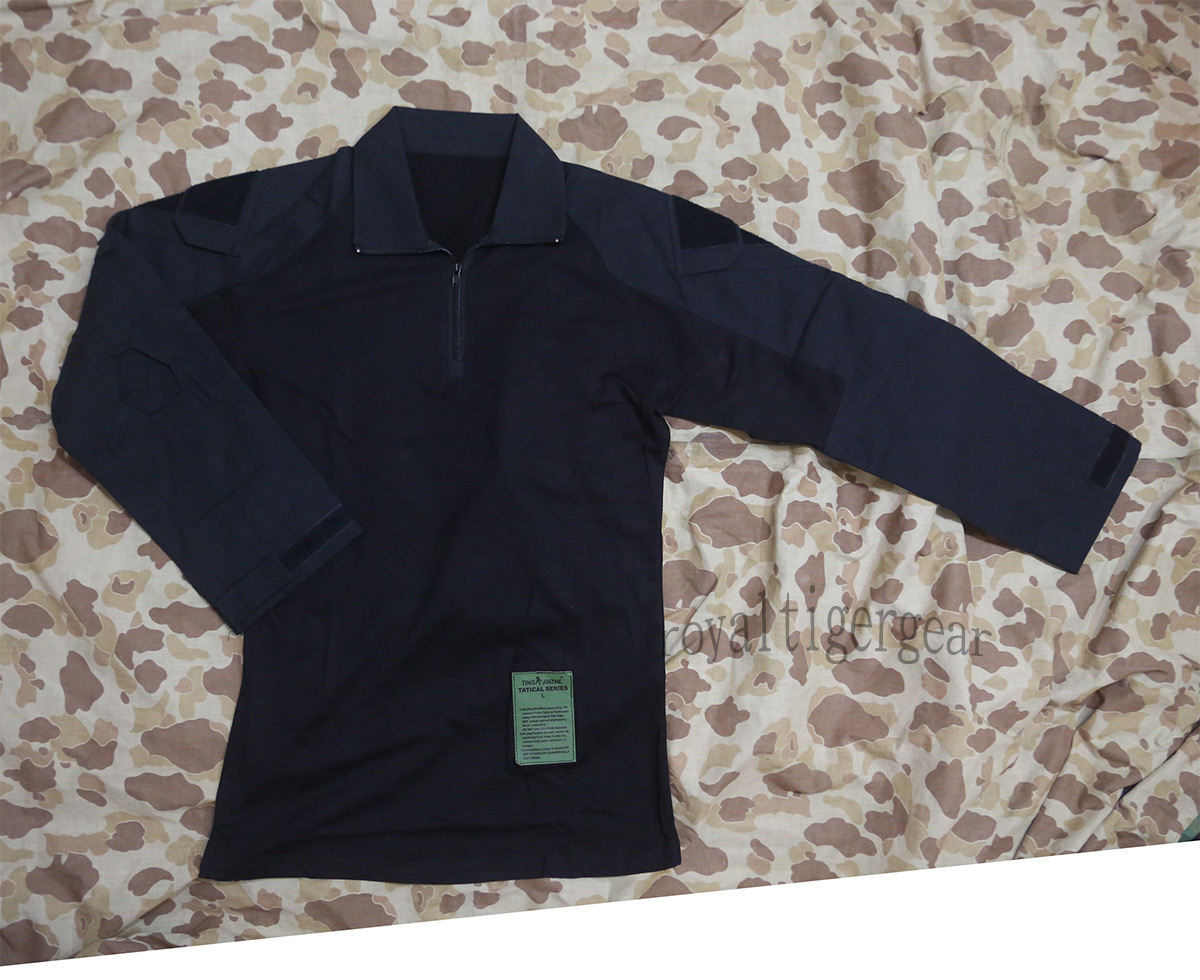 Tactical Long Combat Shirt GEN2 - Black
