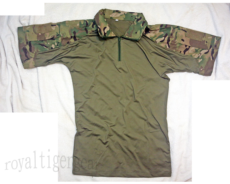 Multicam MC Combat Shirt – Short Sleeves