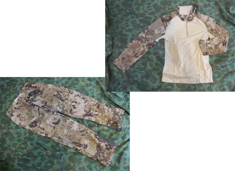CHIEF Python Snake Camo Combat Shirt Pants Set - MAD