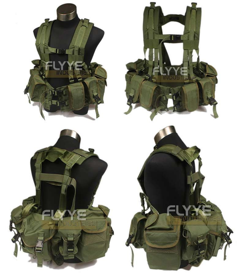 FLYYE 1195j SEALs Floating Harness - A-TACS AU, A-TACS FG