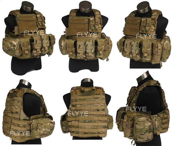 FLYYE Force Recon Vest with Pouch Set Ver.LAND - Multicam®