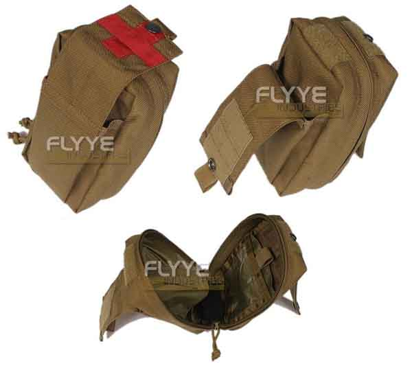 FLYYE SpecOps Thin Utility Medical MOLLE Pouch