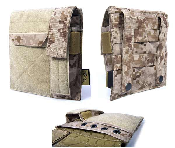 FLYYE MOLLE Admin / Pistol Mag Pouch - AOR1 , AOR2