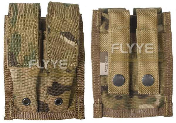 FLYYE Double 9mm Mag MOLLE Pouch - MultiCam®