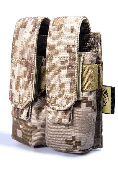 FLYYE Double 9mm Mag MOLLE Pouch Ver.FE - AOR1 , AOR2