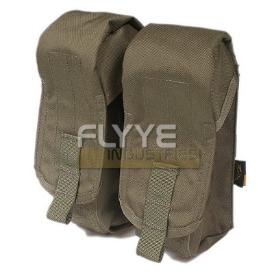 FLYYE Double AK Mag MOLLE Pouch for 6 Mag