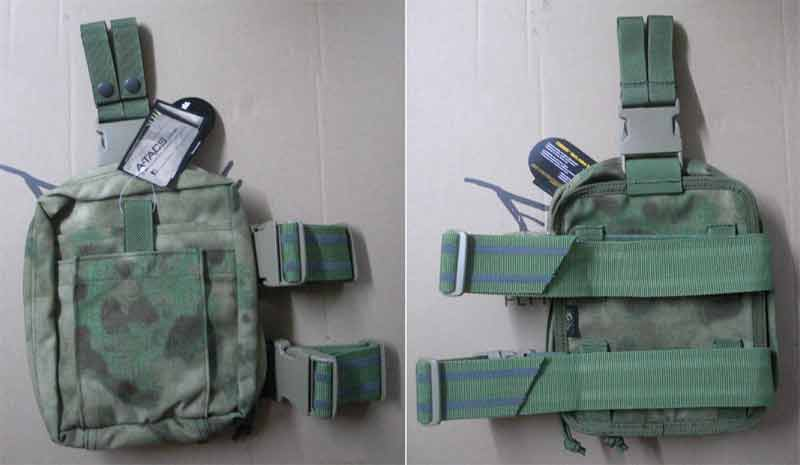 FLYYE Drop Leg Rescue Kit Medical MOLLE Pouch - A-TACS , A-TACS/FG