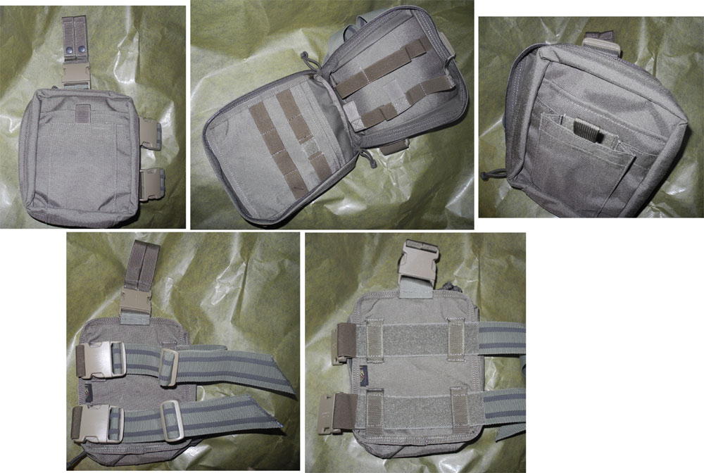 FLYYE Drop Leg Rescue Kit Medical MOLLE Pouch