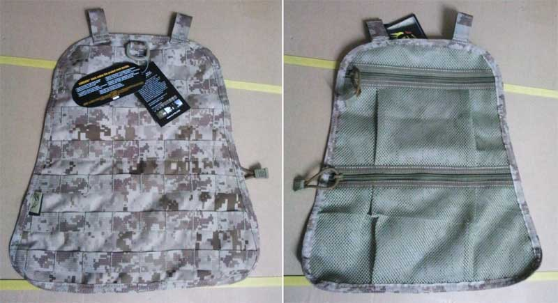 FLYYE Fast EDC Back Pack Built-in MOLLE Panel + Net Bag - AOR1 , AOR2