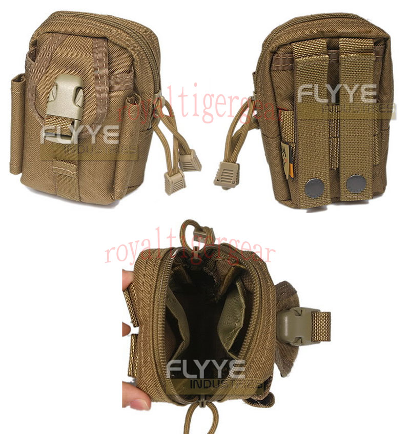 FLYYE Mini Duty Waist Pack Bag - A-TACS , A-TACS/FG