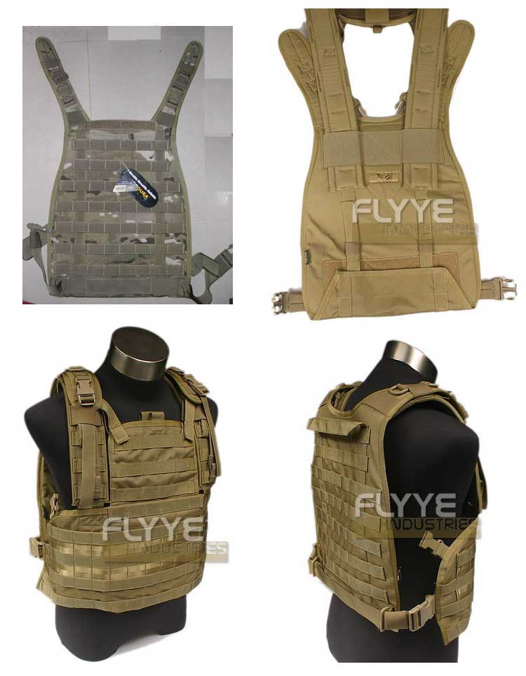 FLYYE RRV MOLLE Chest Rig Vest PC Back Plate - MultiCam®