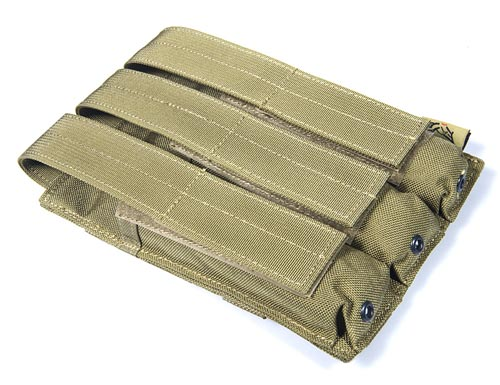 FLYYE Triple MP5 SIG MPX SMG Ammo Mag. MOLLE Pouch