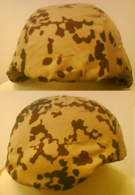 Helmet Cover - German Desert Camo