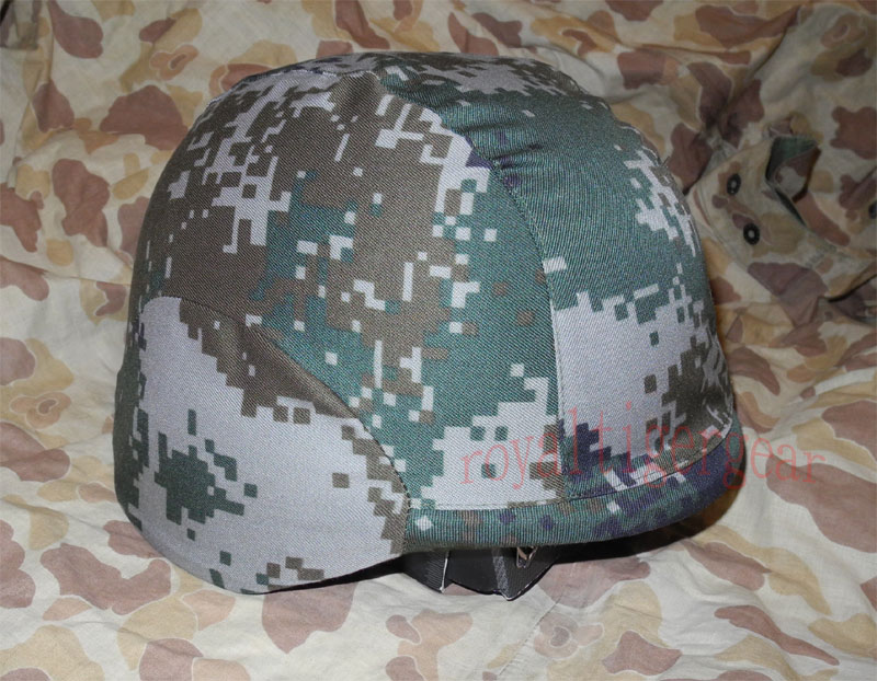 China PLA Type 07 Digital Universal Camo - Helmet Cover