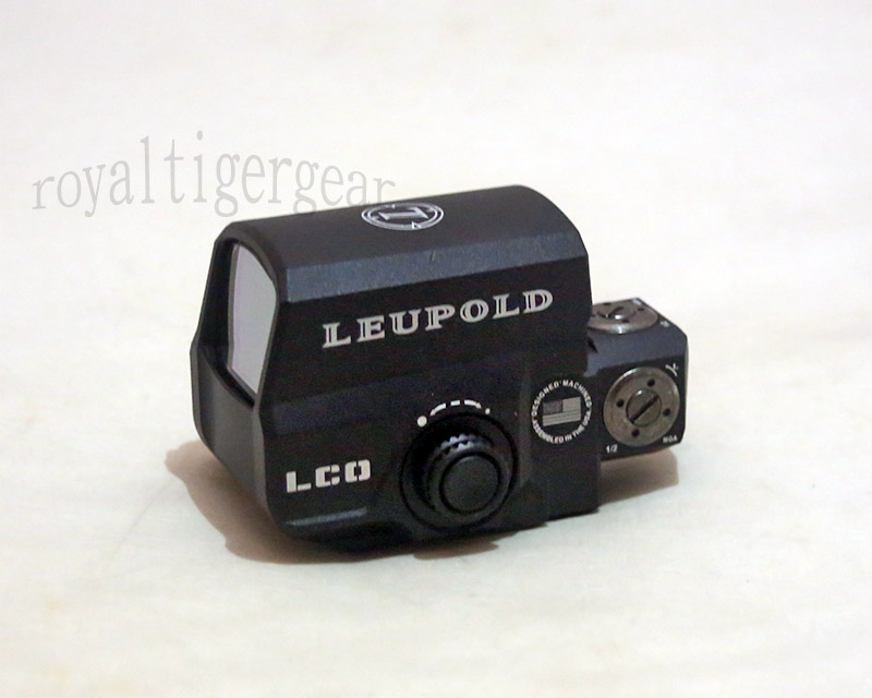 Leupold LCO Red & Green Dot Holographic Weapon Sight - Black