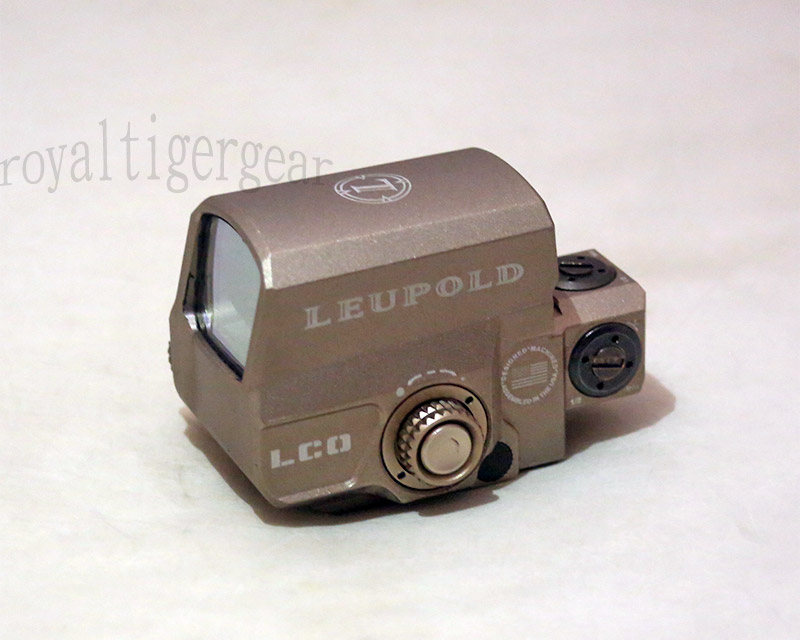 Leupold LCO Red & Green Dot Holographic Weapon Sight - Dark Earth
