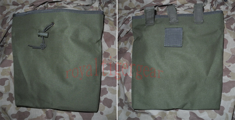 Large Drop Dump MOLLE/Belt Pouch - OD