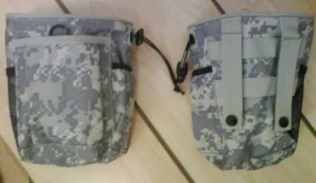 Small Drop Dump MOLLE/Belt Pouch - ACU