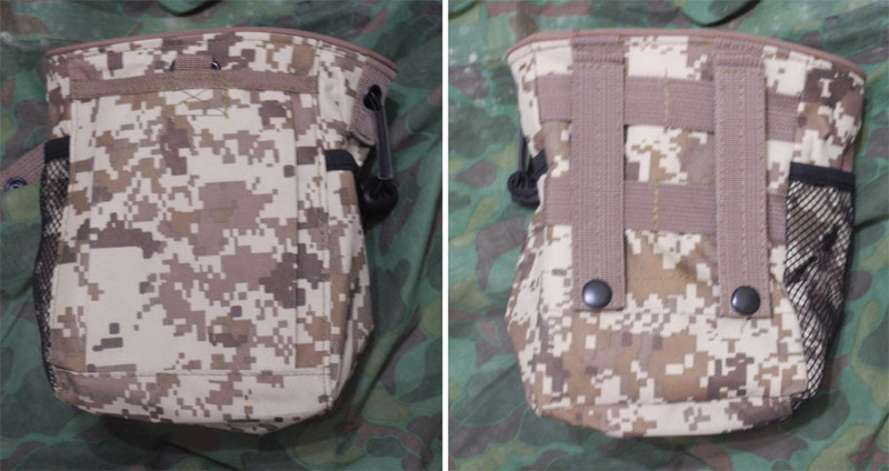Small Drop Dump MOLLE/Belt Pouch - Digital Desert