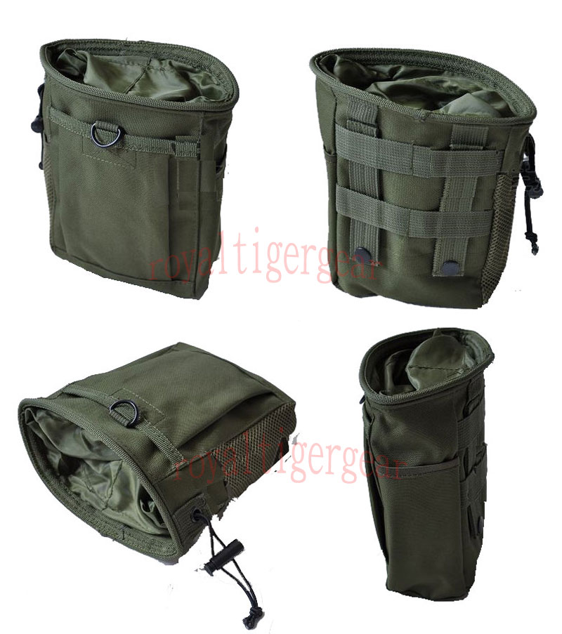 Small Drop Dump MOLLE/Belt Pouch - OD