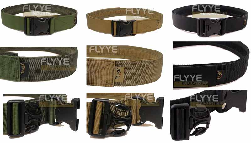 FLYYE Duty Belt With Security Buckle