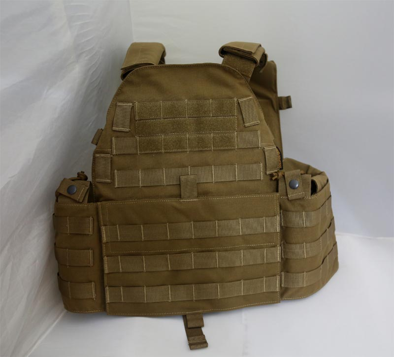 EVOLUTION GEAR LT6094 Plate Carrier Vest - Coyote Brown