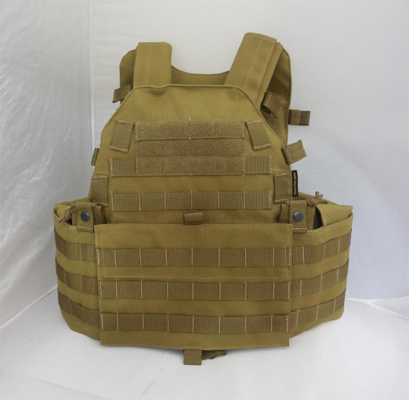 EVOLUTION GEAR LT6094 Plate Carrier Vest - Khaki