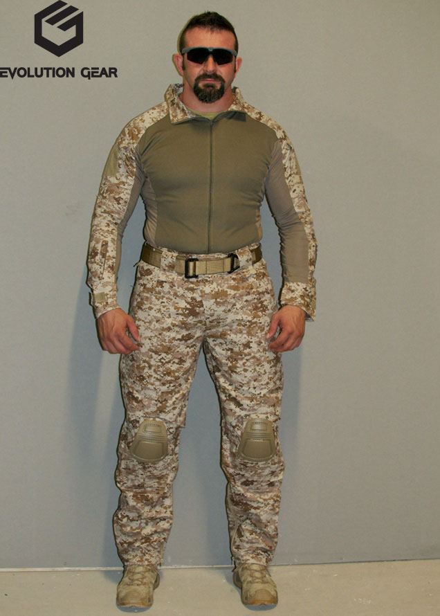 EVOLUTION GEAR ICS Improved Combat Combat Shirt Pants - AOR1