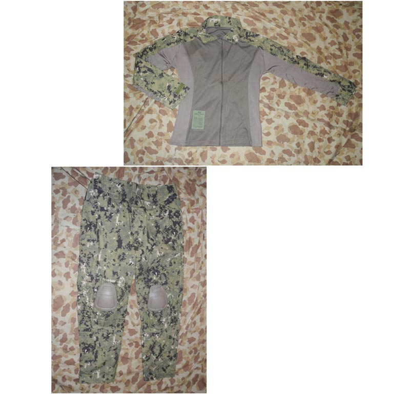 EVOLUTION GEAR ICS Improved Combat Combat Shirt Pants - AOR2