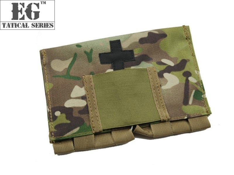 EVOLUTION GEAR Fast Medic MOLLE Pouch - Multicam MC