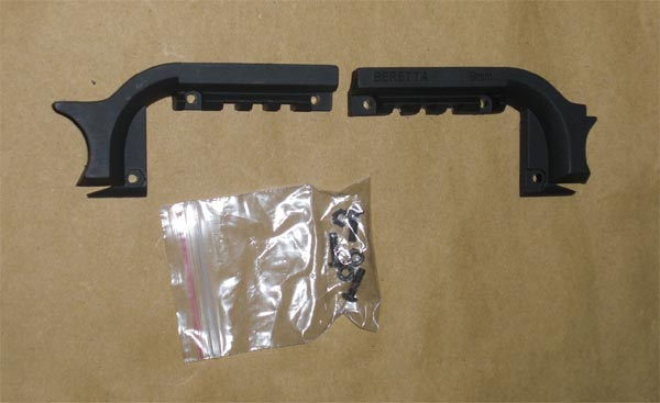 Element Mount Rail for M92F Series - Black