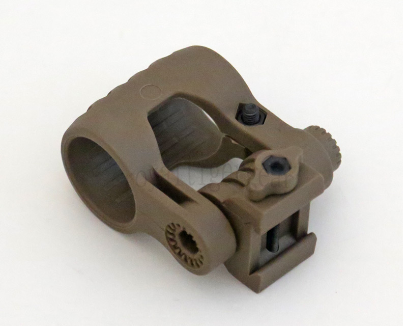 Element Adjustable Tactical Light Mount - Dark Earth