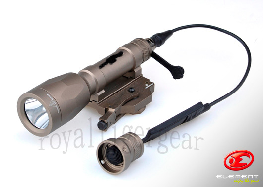 Element M620P LED ScoutLight WeaponLight - Dark Earth