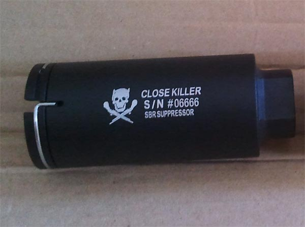 Element M4 Flash Hider - Close Killer - Black