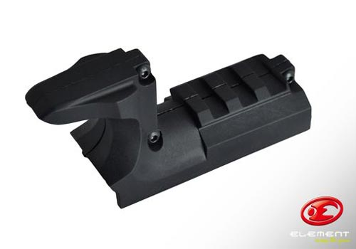 Element Mount Rail for HI-CAP - Black