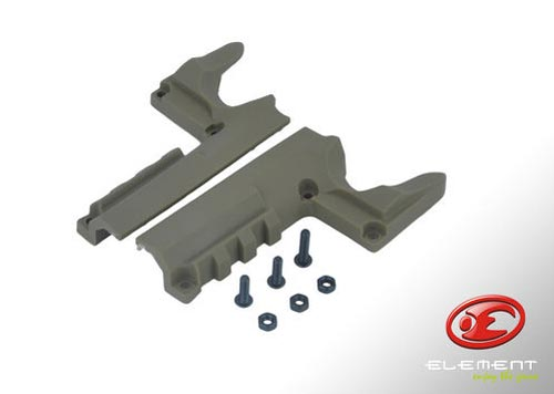 Element Mount Rail for HI-CAP - Tan